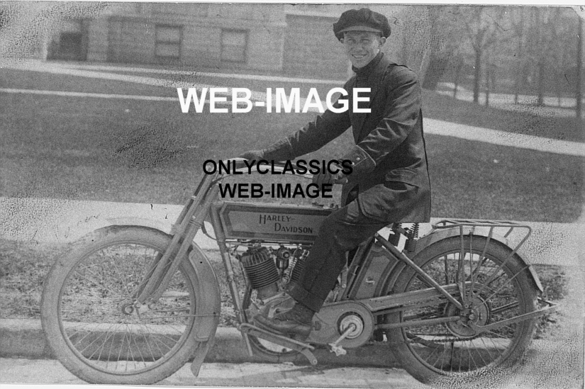 Harley Davidson: 1915 EARLY VINTAGE HARLEY DAVIDSON V-TWIN MOTORCYCLE