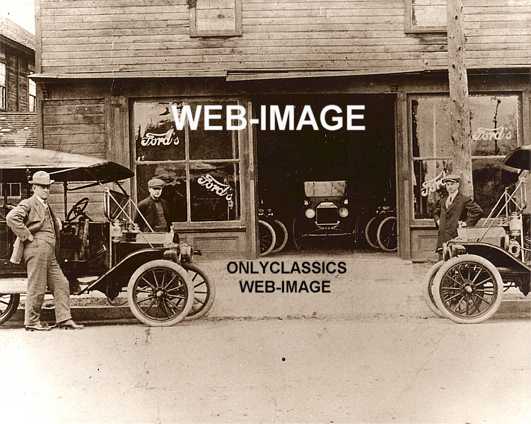 details about 1911 kingsford ford auto dealer 1st dealership mi photo. Cars Review. Best American Auto & Cars Review