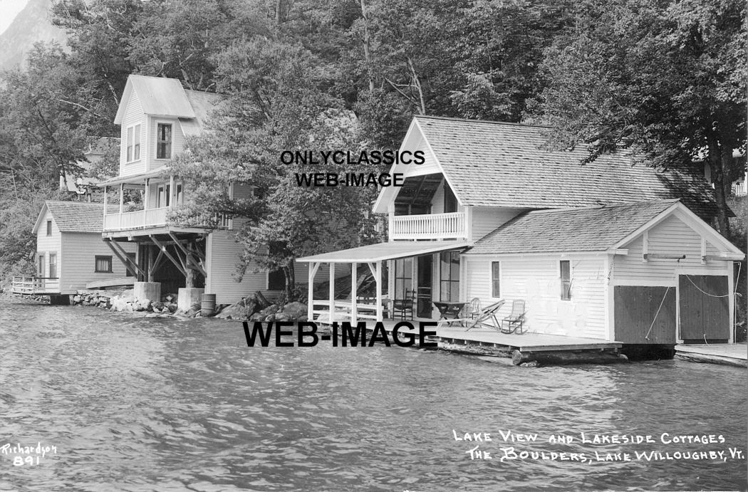 1920 lake willoughby vermont the boulders lakeside cabin for Lake willoughby cabins