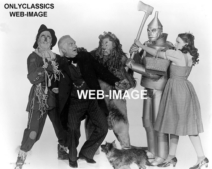 1939 wizard of oz movie photo dorothytin manlion
