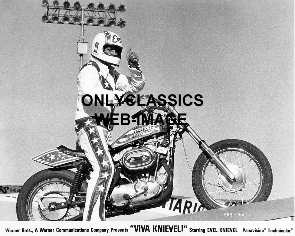 Evel Knievel S Viva Knievel Bike Heads To Auction: 1977 VIVA EVEL KNIEVEL HARLEY DAVIDSON XR750 MOTORCYCLE