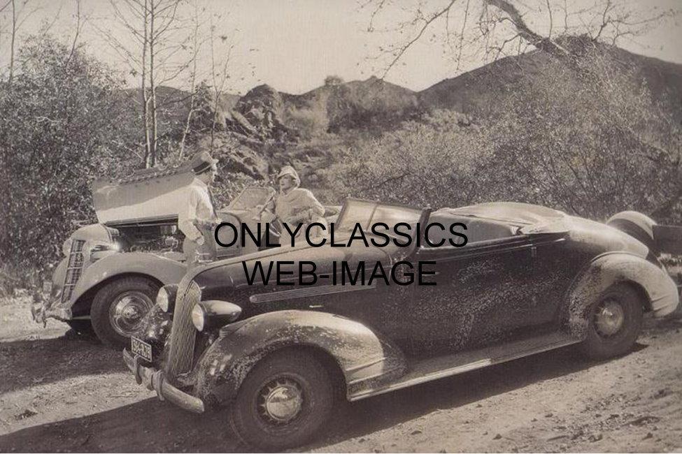 gary cooper marlene dietrich 1936 auburn v 8 auto car. Black Bedroom Furniture Sets. Home Design Ideas
