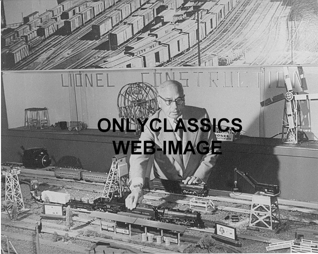 Vintage Model Train 112