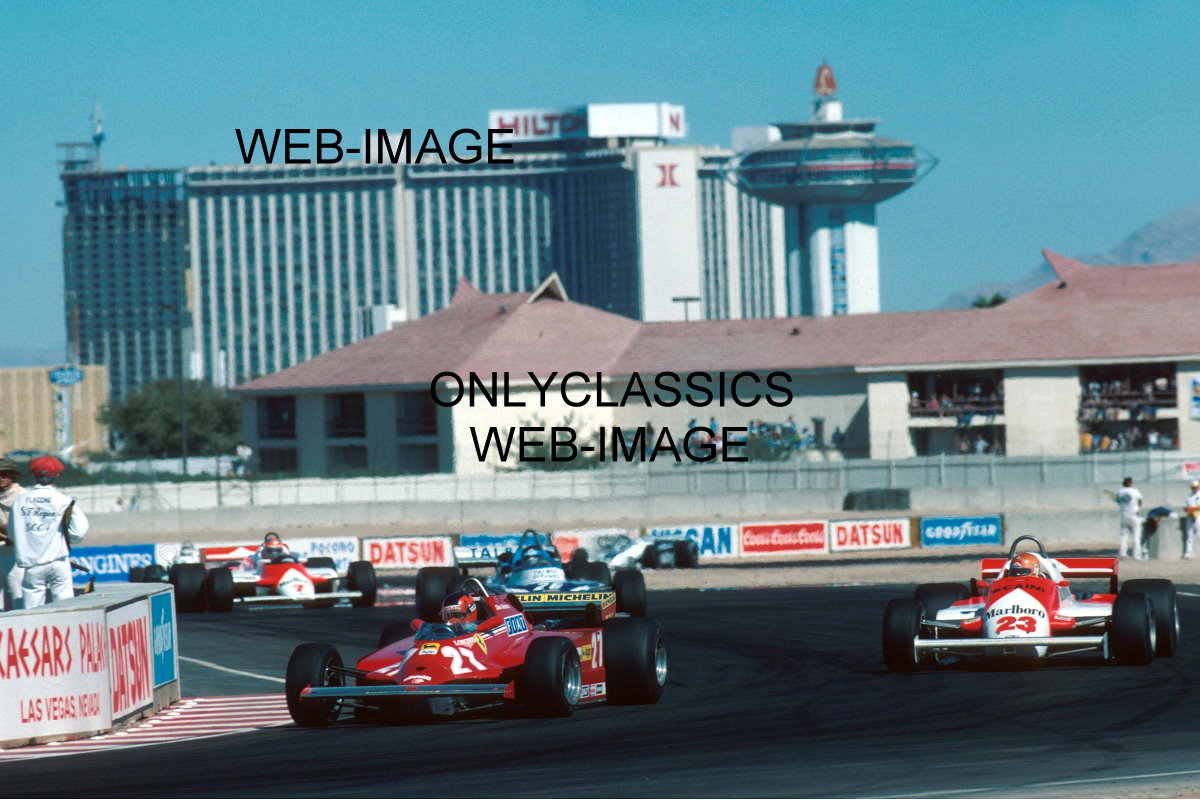 1981 formula one f1 grand prix las vegas auto race photo for Ebay motors las vegas