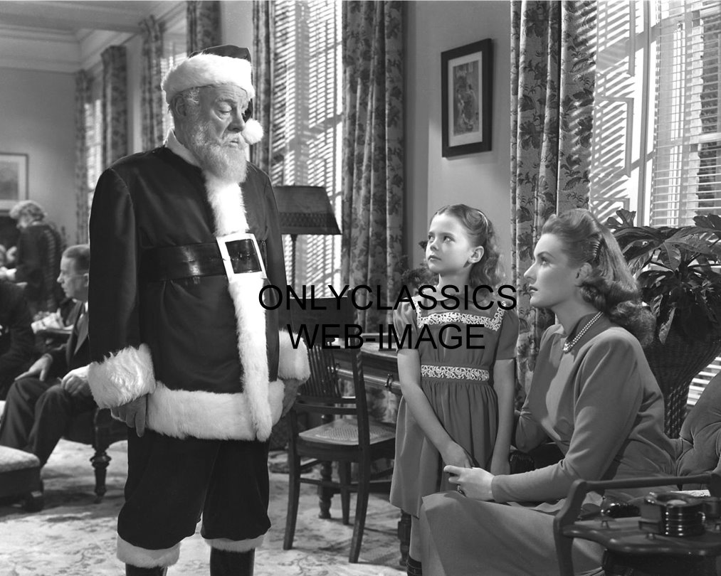 1947 quotmiracle on 34th streetquot photo santa clause natalie