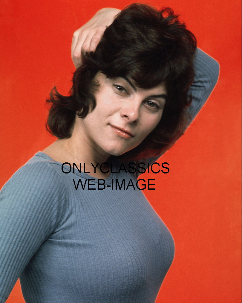SEXY PROVOCATIVE ADRIENNE BARBEAU TIGHT SWEATER PHOTO BUSTY ...