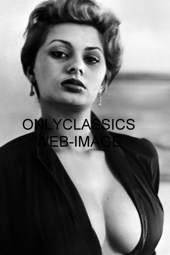 SEXY ITALIAN ACTRESS SOPHIA LOREN BUSTY PHOTO HOT PINUP CHEESECAKE ...