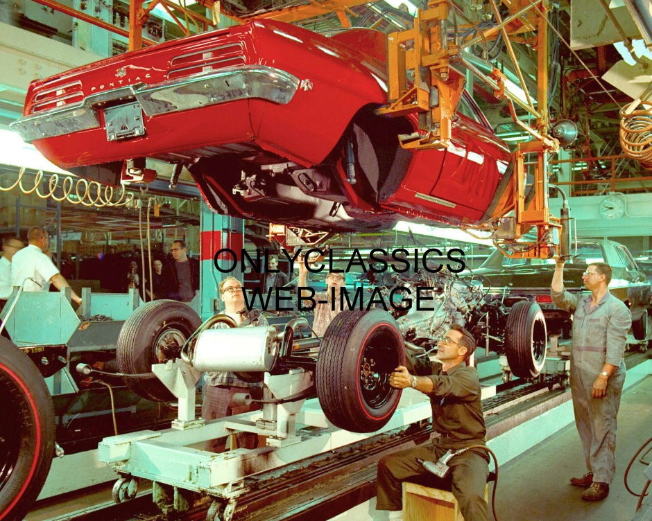 1969 pontiac firebird gm assembly plant photo general for General motors assembly plant