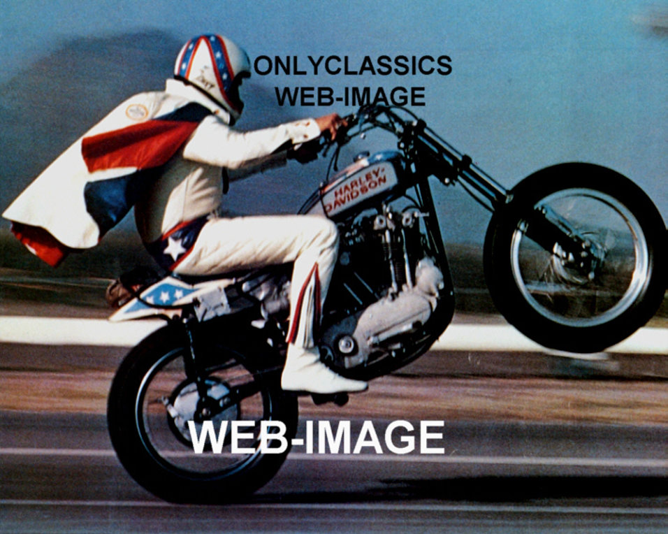 1972 Harley Davidson Xr750 Evel Knievel Stunt Bike: 1973 DAREDEVIL HARLEY DAVIDSON XR-750 MOTORCYCLE PHOTO